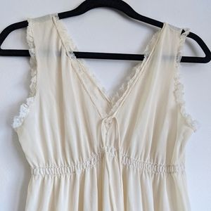 Vintage delicate floor legnth night gown